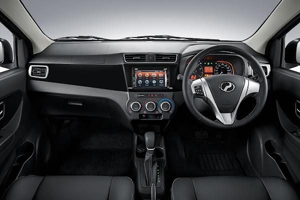 Perodua Bezza Advance gambar dashboard