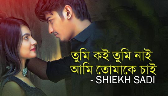 Tumi Koi By Shiekh Sadi mp3 song Download