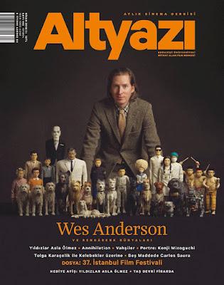 Altyazı 182. Sayı (Nisan) - Wes Anderson - Isle of Dogs