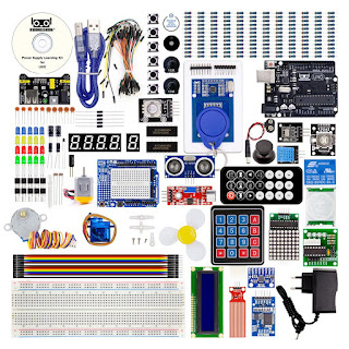 Robotlinking EL-KIT-003 UNO/MEGA Project Super Starter Electronic DIY Kit with Tutorial for Arduino