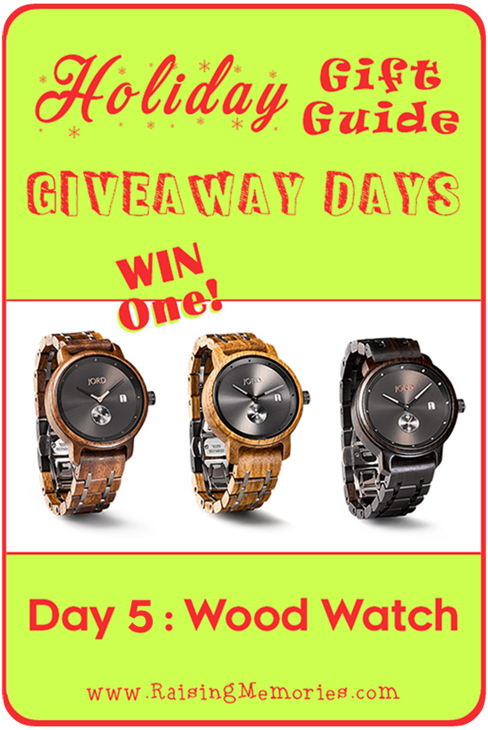 JORD Wood Watch Gift Guide Giveaway