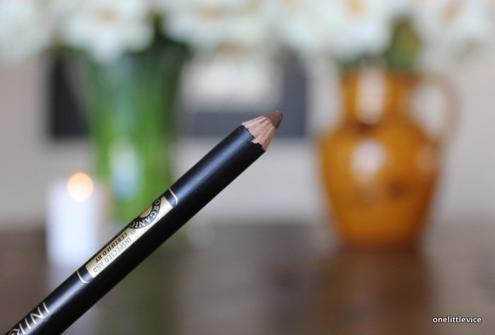 one little vice uk beauty blog: cruelty free eyebrow pencil brown