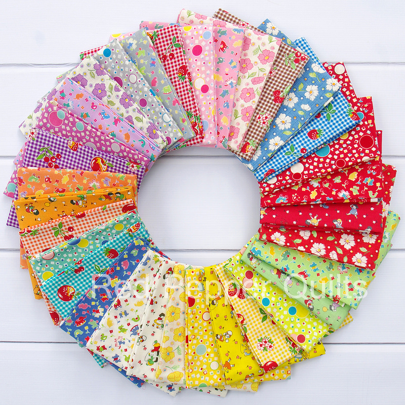Retro 30's Child Smile Fall 2015 - Lecien | Red Pepper Quilts
