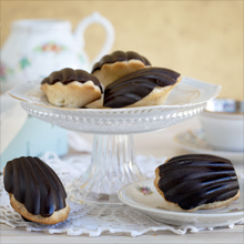MADELEINES DE CHOCOLATE