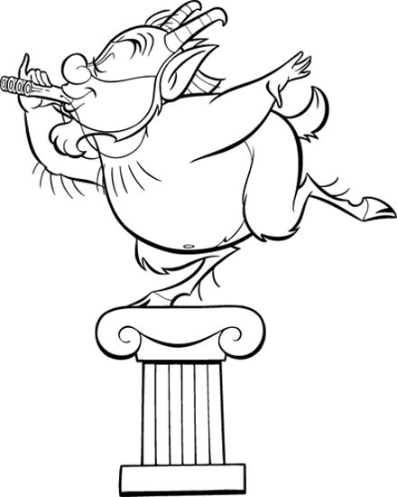 Colour Me Beautiful: Hercules Colouring Pages