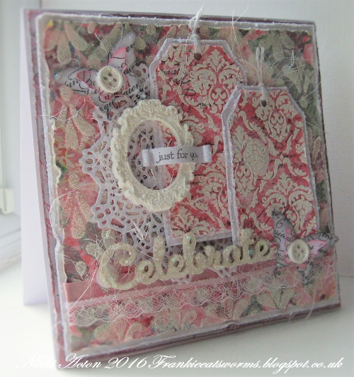 Addicted to Art - Shabby Chic card