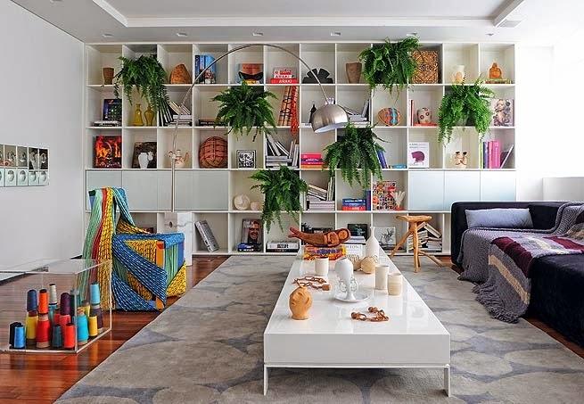 decoração-estantes