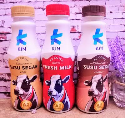 KIN Fresh Milk, Susu Segar Enak Bebas Eneg