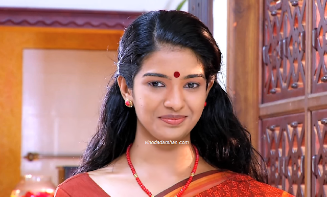 Actress Monisha as Janikutty in Manjurukukm Kalam Serial
