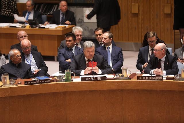 Порошенко у Раді безпеки ООН