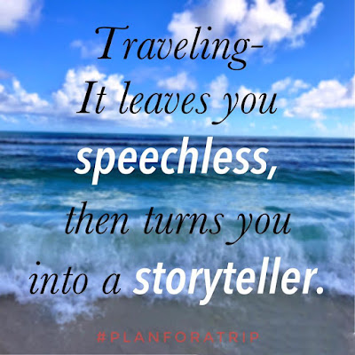Traveling - It leaves you speechless