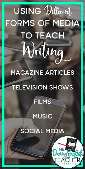 Using Different Forms of Media to Teach Writing