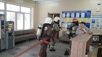 (ФОТО)16 марта в городе Сухой Лог были проведены пожарно-тактические учения на объект образования