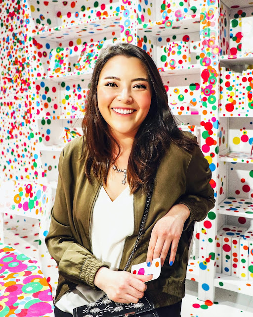 Yayoi Kusama Infinity Mirrors Obliteration Room Dots Photos Toronto Exhibit