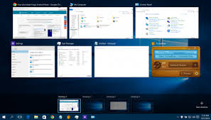 How To Use Multiple Desktops in Windows 10 Windows | multiple desktops windows 7
