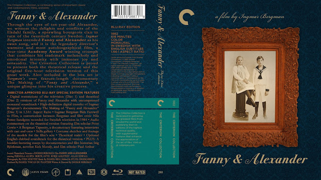 Fanny And Alexander Bluray Cover