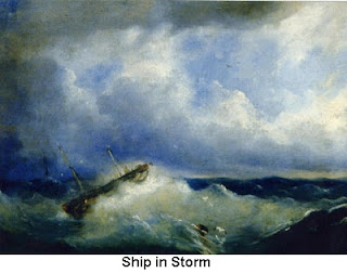 Ship in Storm 1