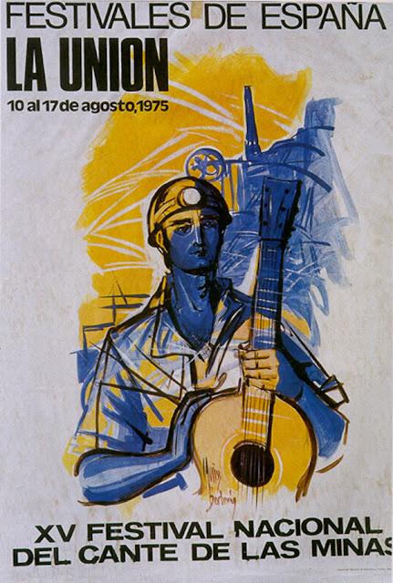 Cartel del Cante de las Minas de 1975