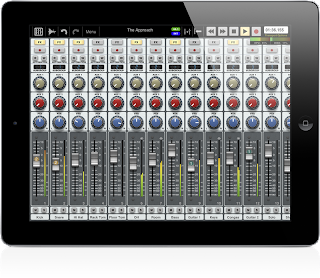 Auria iPad DAW app image from Bobby Owsinski's Big Picture blog