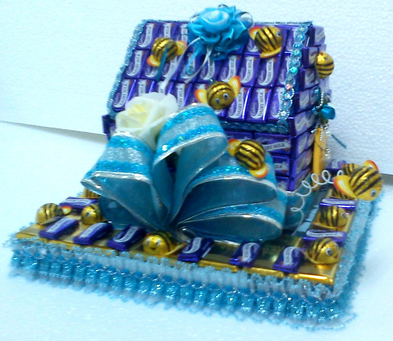 pin gubahan hantaran cokolat - photo #32