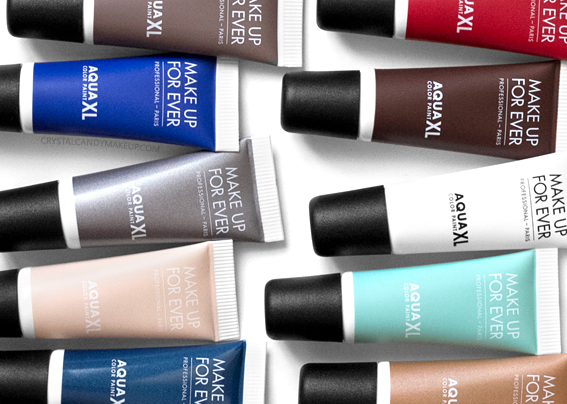 Make Up For Ever MUFE Aqua XL Color Paints Review