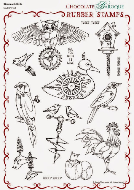 http://www.chocolatebaroque.com/Steampunk-Birds-Unmounted-Rubber-stamp-sheet--A4_p_5702.html