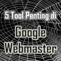 Tool Pentingi Google Webmaster