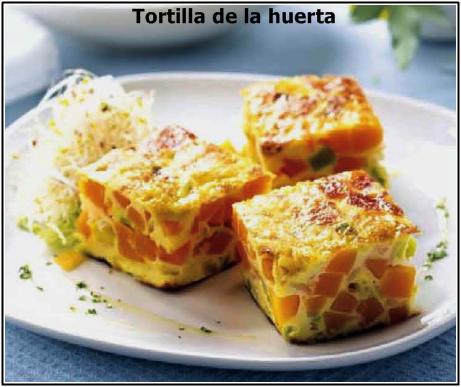 Tortilla De La Huerta