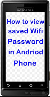 hey guys today we are sharing a tricks to view saved password in phone.we have also a trick to view your wifi password in pc/laptop.here is tricks to show your wifi password in both pc and andriod phones.we have trick for root mobiles and non rooted phones.for non rooted phones here is the simplest method to view the wifi password in andriod.in case if you forget your wifi key then this trick / method is also working .