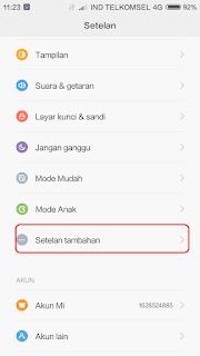Cara Menghilangkan Iklan Yang Muncul Di Layar Xiaomi Redmi 3 Pro