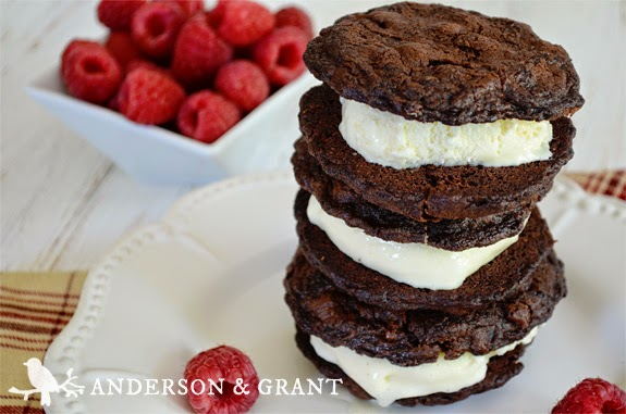 Do you love ice cream sandwiches?  Visit www.andersonandgrant.com for a delicious recipe for Mixed Berry Ice Cream Sandwiches.