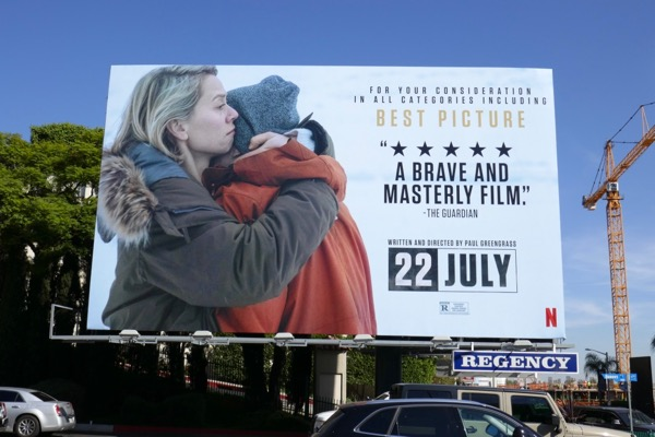 22 July Netflix consideration billboard
