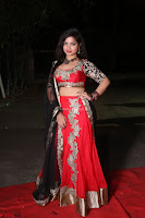 Sirisha Dasari in Red Ghagra Backless Choli ~  026.JPG