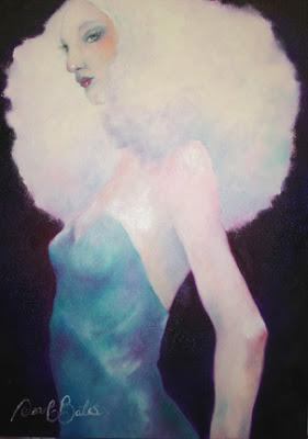 Pintura con colores pastel