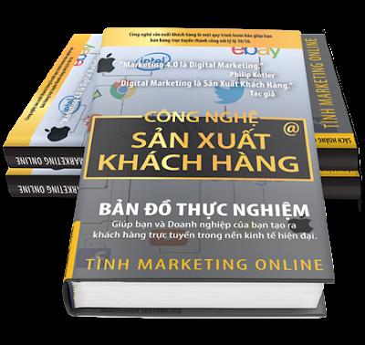 Sách marketing online - Công nghệ sản xuất khách hàng - Giúp bạn tạo ra khách hàng tự động