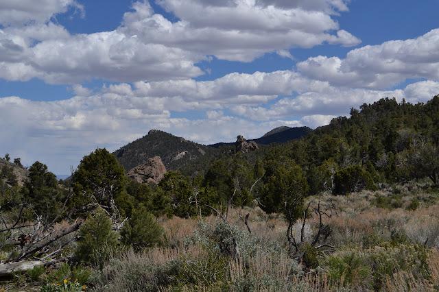 spires of rock