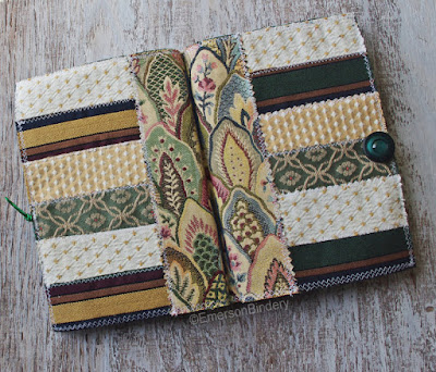 covers of fabric art journal