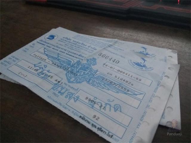 Tiket PattayaVan