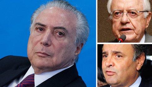 Temer indica para ministro da Justiça advogado de Aécio Neves na Lava Jato para estancar a sangria e não ser comido