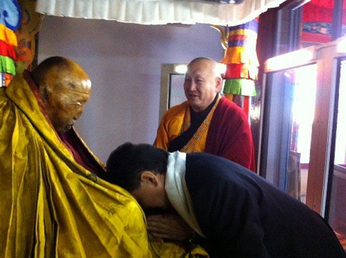 Algunos monjes budistas creen que Lama Dashi-Dorzho Itigilov ha alcanzado el Nirvana.