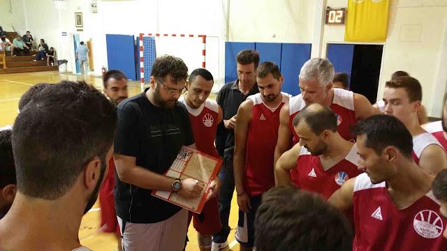 Φιλική νίκη  50-43 του Ναυπλιο 2010 με τον Πήγασο ¨Αστρους