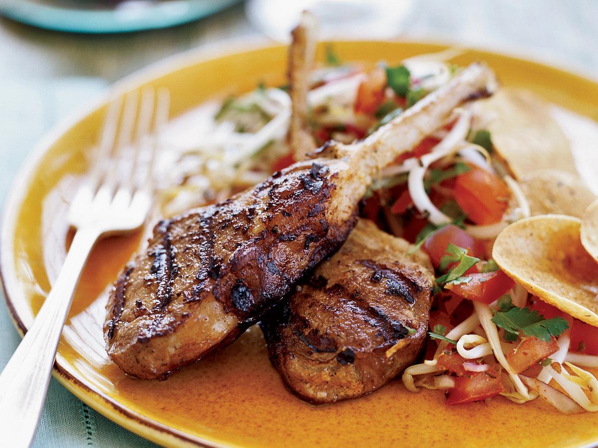 recipe for tandoori lamb chops