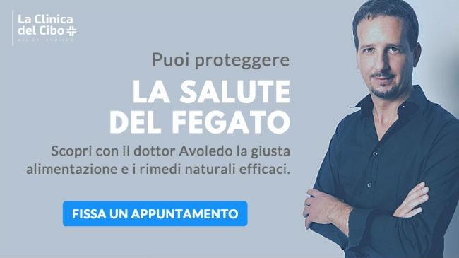 L'appuntamento presso La Clinica del Cibo con il dottor Luca Avoledo per ritrovare il benessere epatico