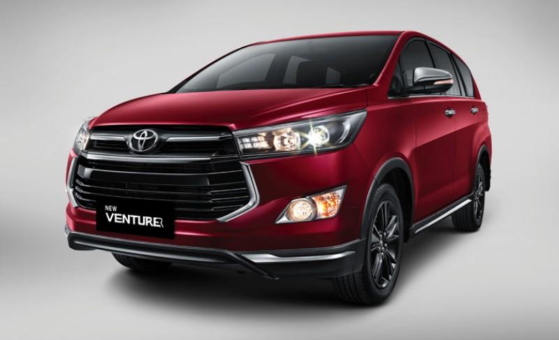 All New Kijang Innova Reborn Tune Up Grand Avanza Promo Kredit Toyota Bandung 2017 Harga Venturer Tampak Depan