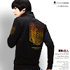 fashion cowok fashioncowok Jaket Anime Shingeki no Kyojin - long sleeve jacket