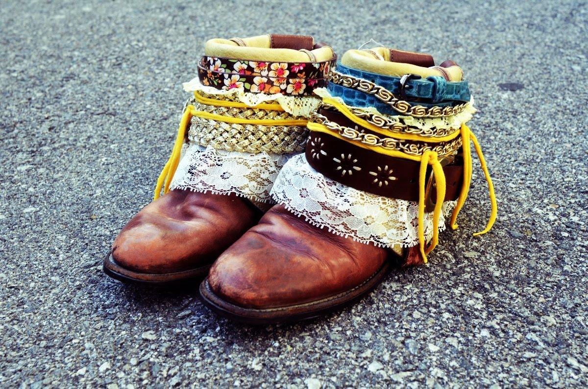 de botas a botines, transformar, tunear, customizar, zapatos