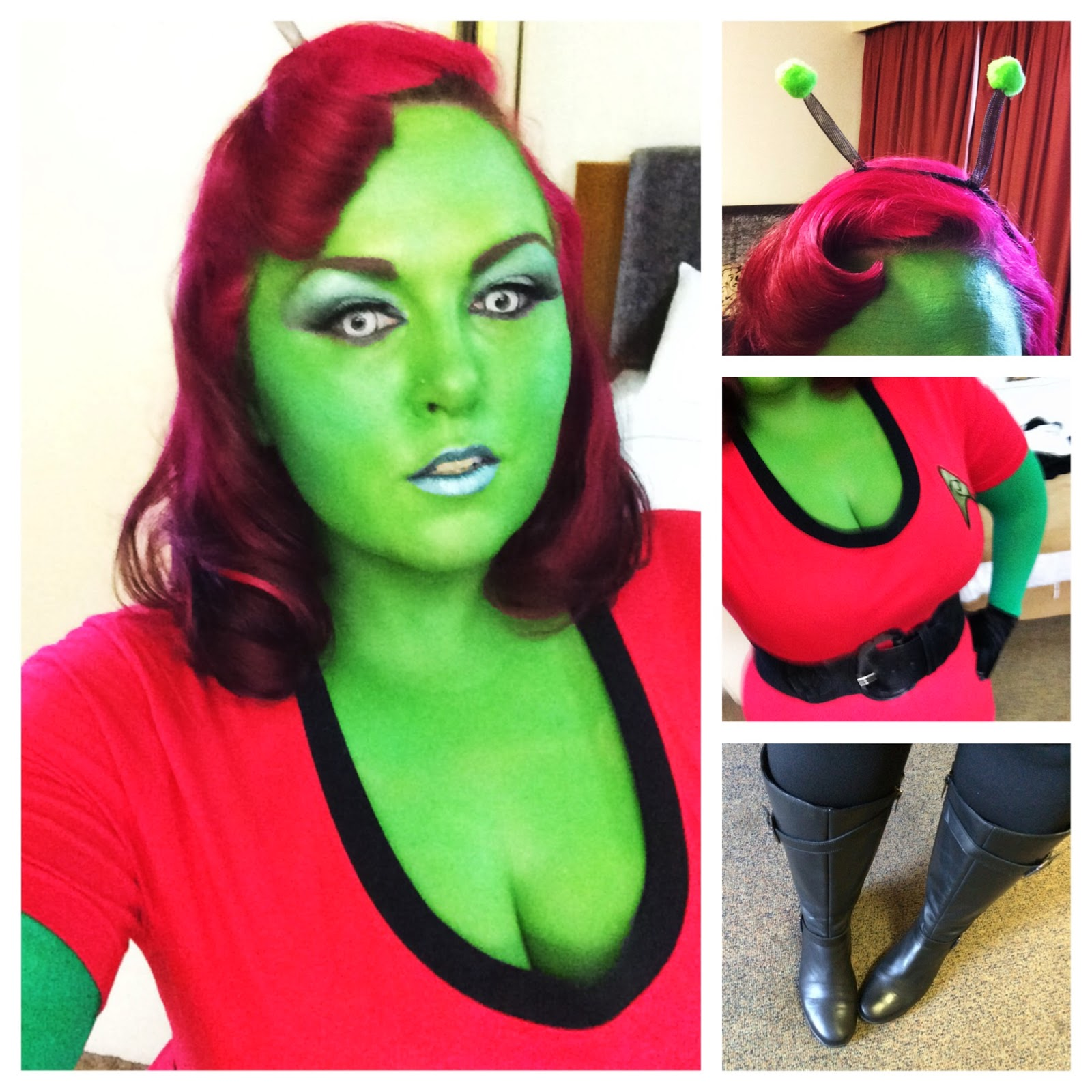 Sunday May 25 2014  sc 1 st  Quirky and Curvy & Cosplay - A little on the green side. | Quirky and Curvy