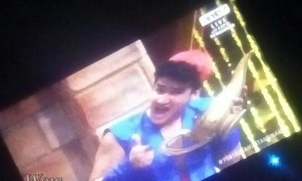 Wow Faisal Khan Keren Banget Saat Jadi Aladin Di HUT ANTV
