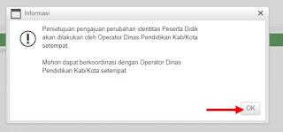 Koordinasi dengan Operator Dinas Pendidikan Kabupaten/Kota