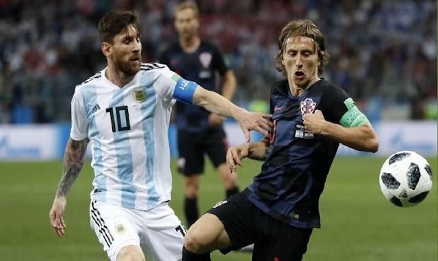 Luka Modric Takkan Pernah Main Bersama Lionel Messi